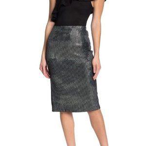 New EVERLEIGH Tiny Sequins Pencil Skirt